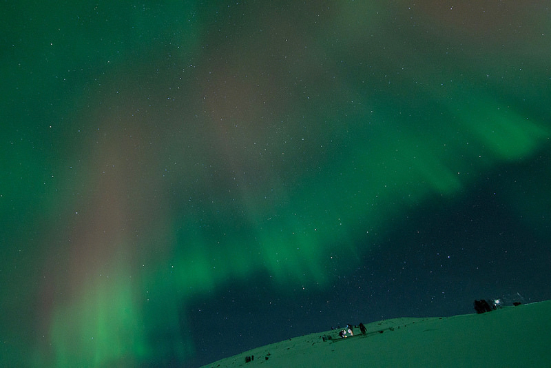 Abisko National Park can be home to some unbelievable displays
